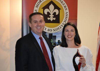 Brad Alvey and Beth Rojas - Award - Associate Member of the Year