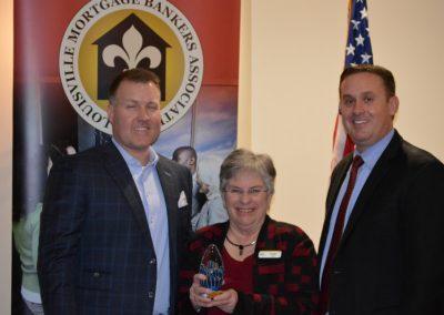 Ryan Baxter, Linda Wetz - Award - Operational Excellence, Brad Alvey