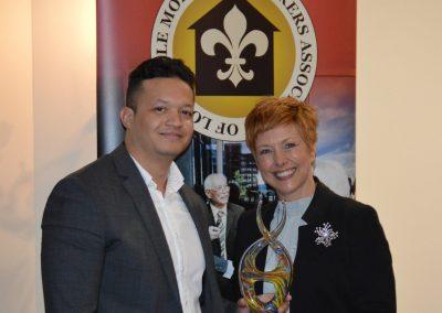 Alejandro Pousa - Award - Community Loan Originator with Gesabel Sabatela