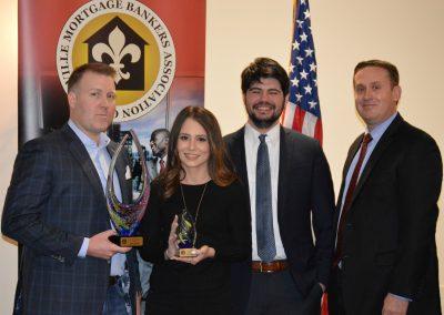 Ryan Baxter - Award - Top Non-Bank Producer-1st, Hannah Cecil, Brad Alvey