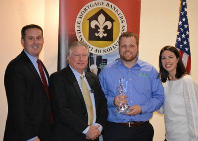 Brad Alvery, Jack Harpole, Doug Spalding - Award - Top Inside Banking Producer-1st , Beth Rojas