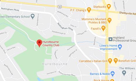 Hurstbourne Country Club - Google Map Screenshot